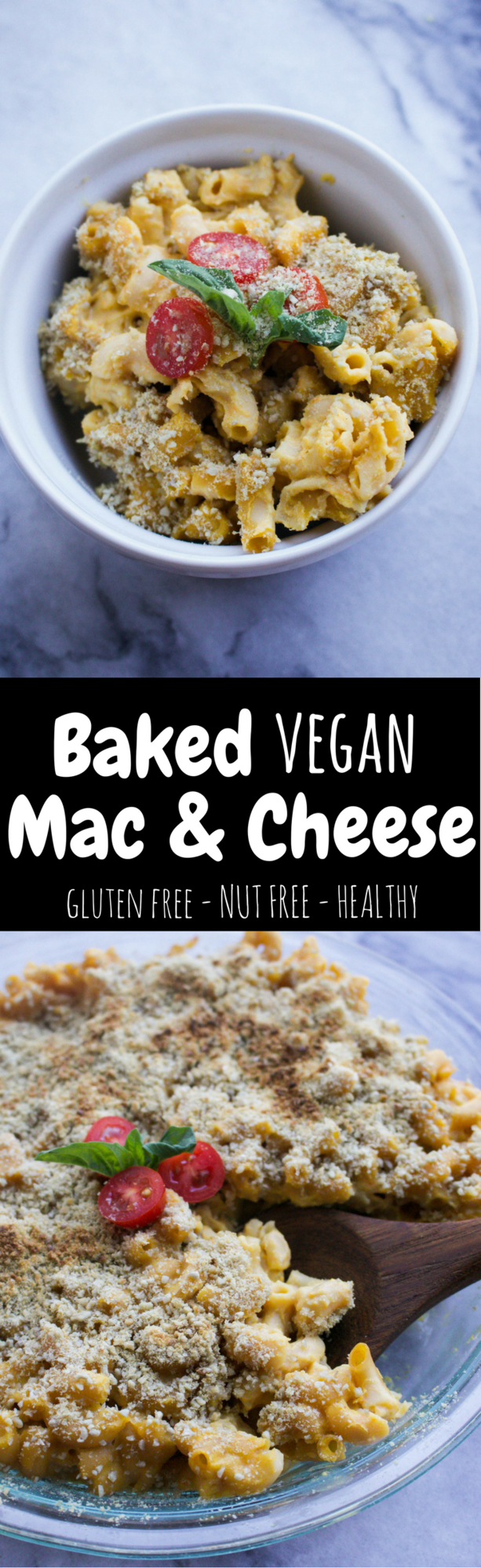 Baked Vegan Mac and Cheese (Gluten Free, Nut Free) - From My Bowl