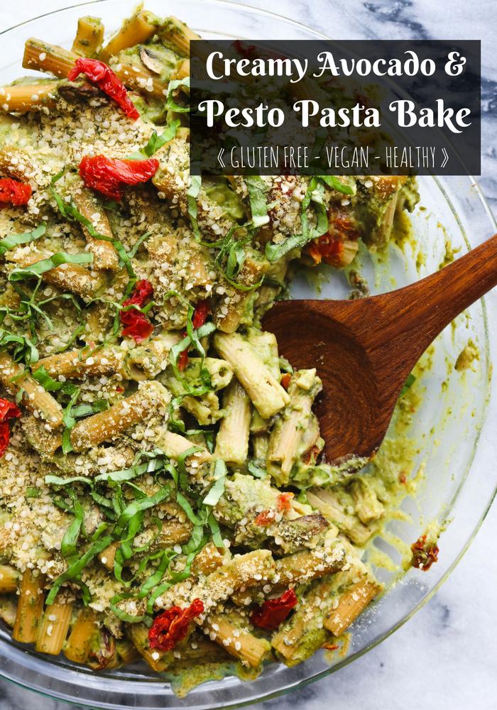 Creamy_Pesto_Pasta_Avocado_GlutenFree_Vegan_FromMyBowl