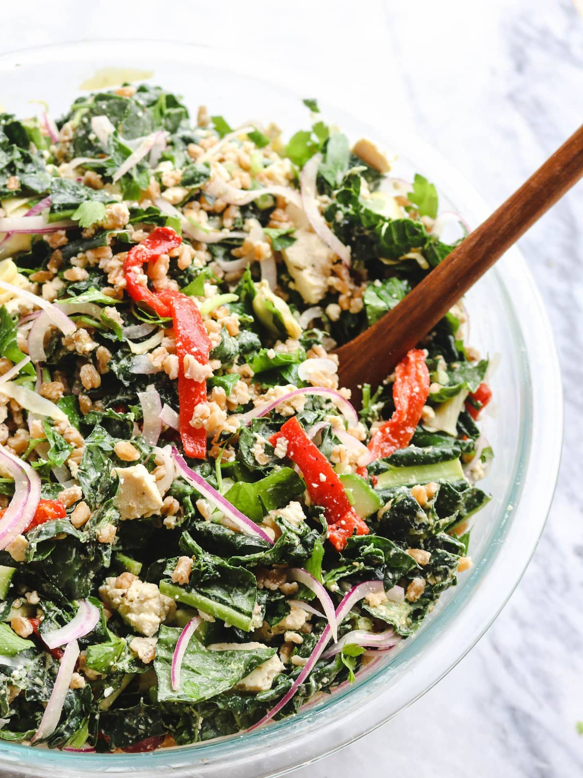Greek_Kale_Salad_Tofu_Feta_Vegan_FromMyBowl-4