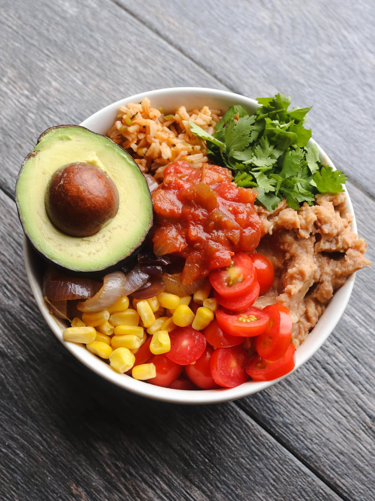 Mexican Burrito Bowl Mexican Inspired Budget Friendly Vegan Meals FromMyBowl