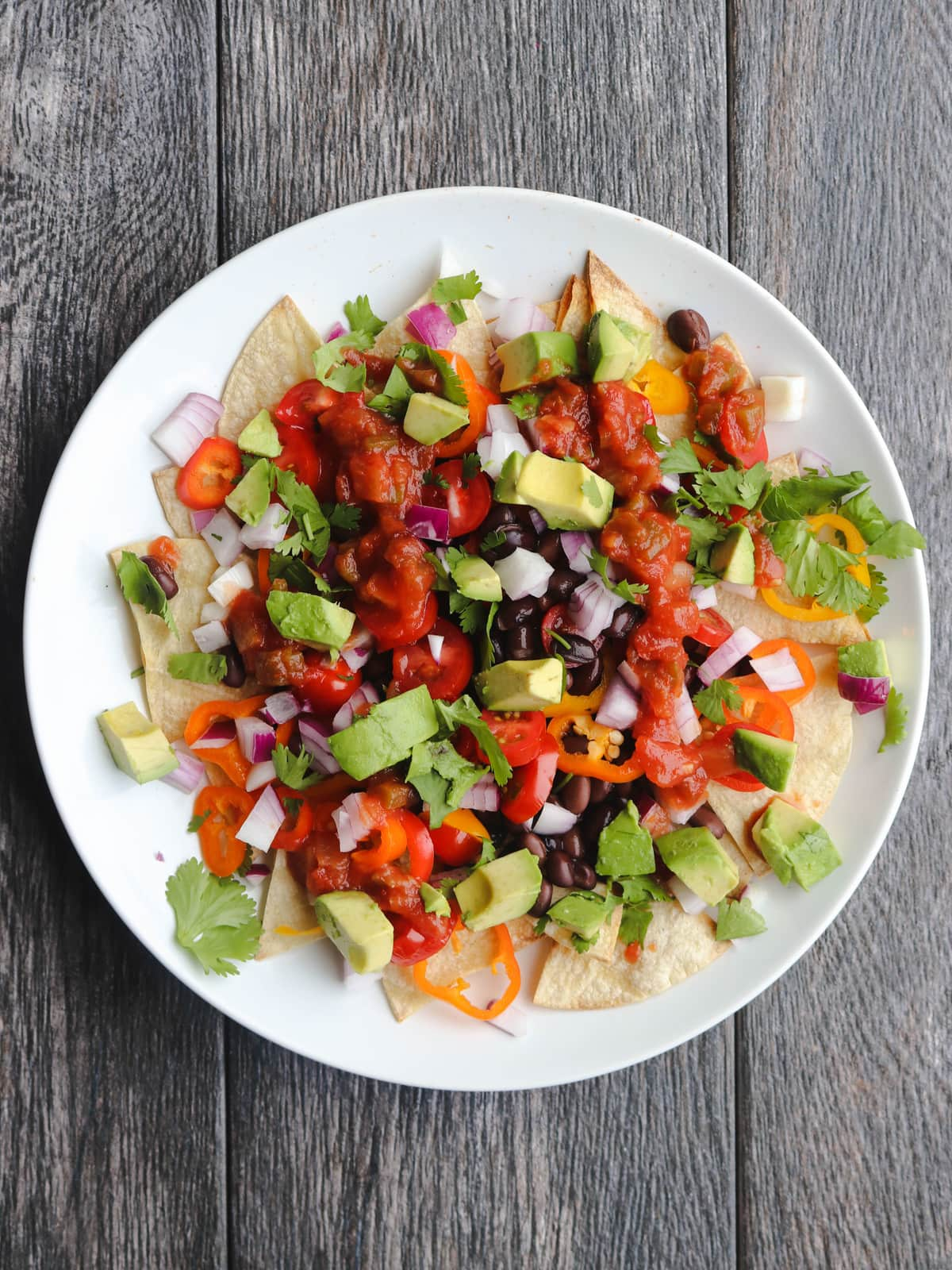 Black Bean Nachos Mexican Inspired Budget Friendly Vegan Meals FromMyBowl