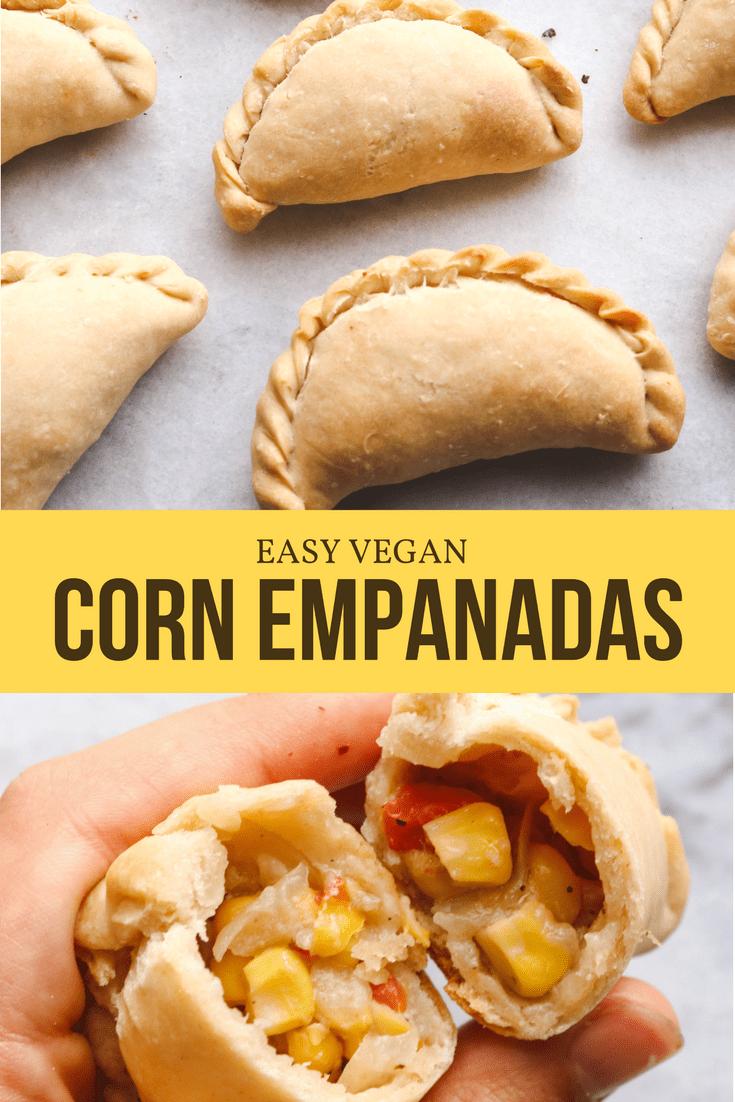 Easy Vegan Corn Empanadas Dairy Free