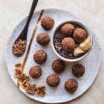 Cacao Fig Bliss Balls Gluten Free Vegan
