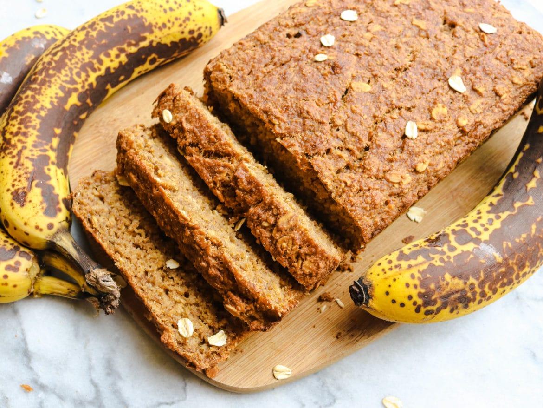 Fluffy Gluten Free Vegan Banana Bread