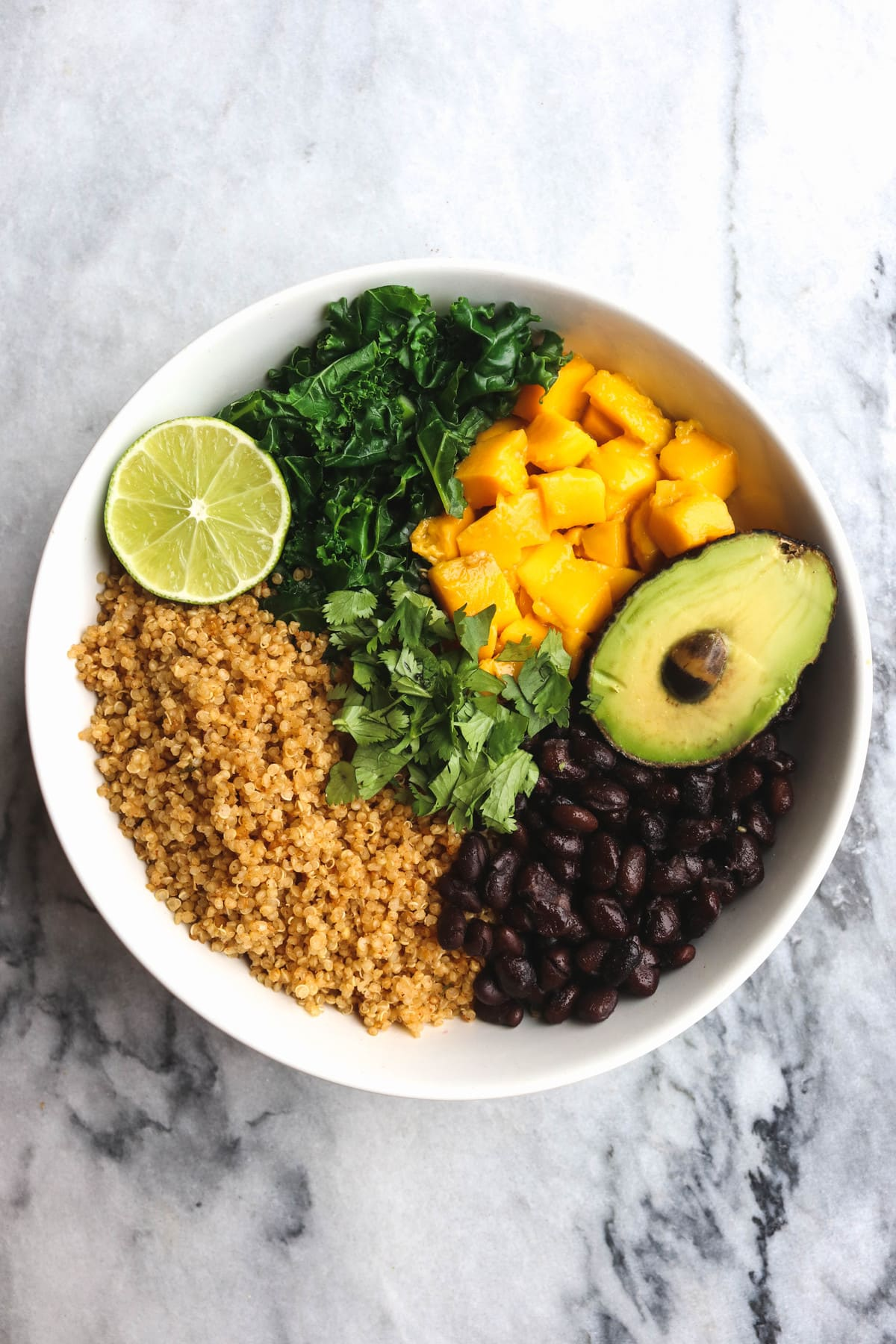 Savory Mango Buddha Bowl Chipotle Quinoa Gluten Free Vegan