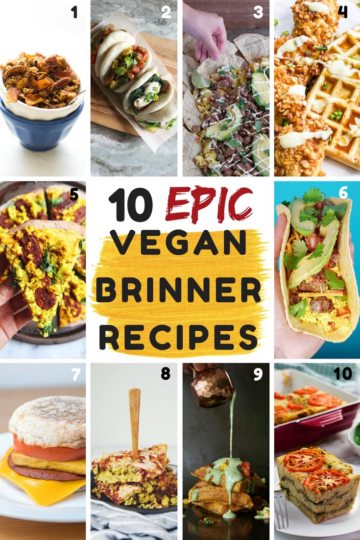 10 Vegan Brinner Recipes From My Bowl
