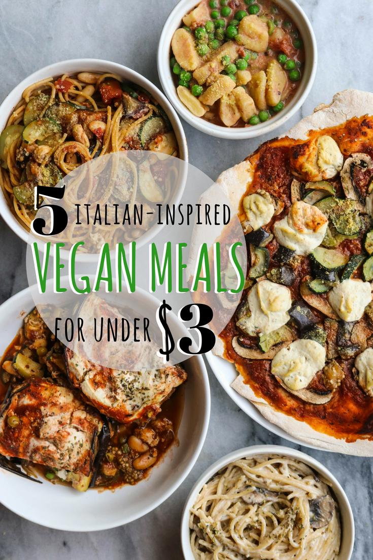 Italian-Inspired Vegan Meals From My Bowl