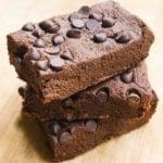 No Bake Vegan Cosmic Brownies Gluten Free