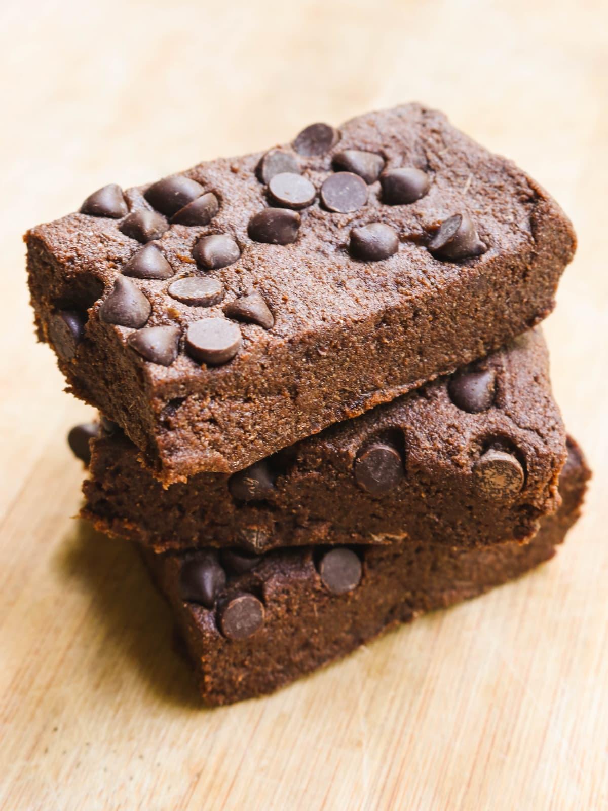 No Bake Vegan Cosmic Brownies (Gluten Free)