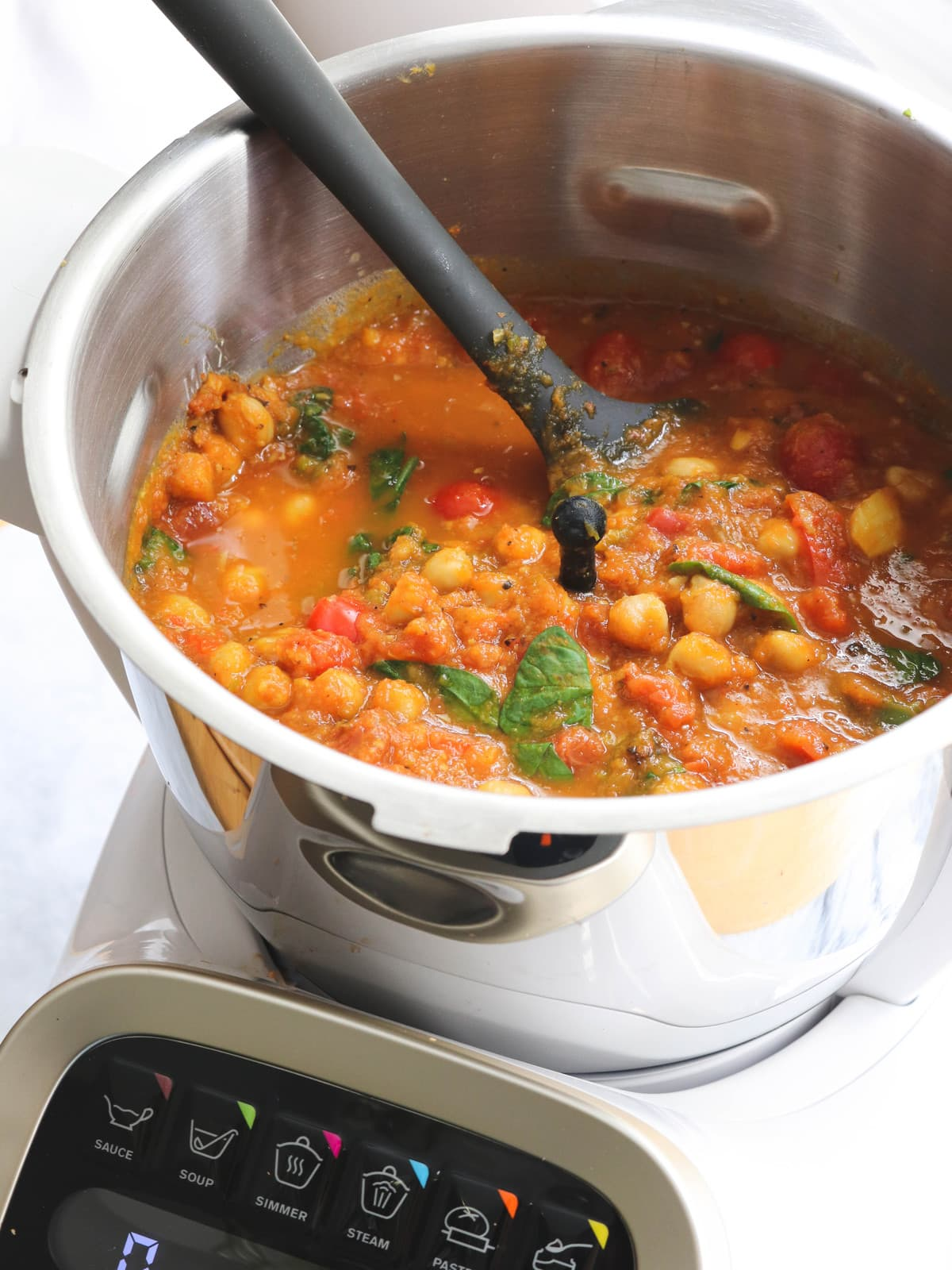 One Pot Chipotle Pumpkin Chickpea Curry Vegan From MY Bowl