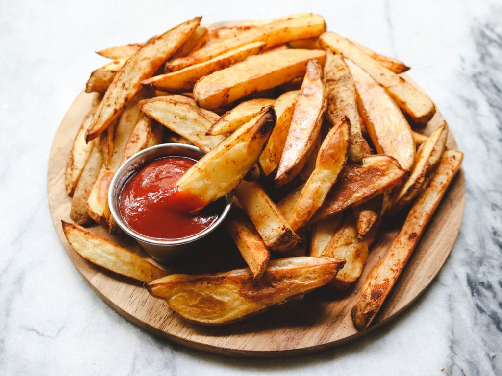 pre order cheapest price new product How to Make Perfect Oil-Free Oven Baked Fries - From My Bowl