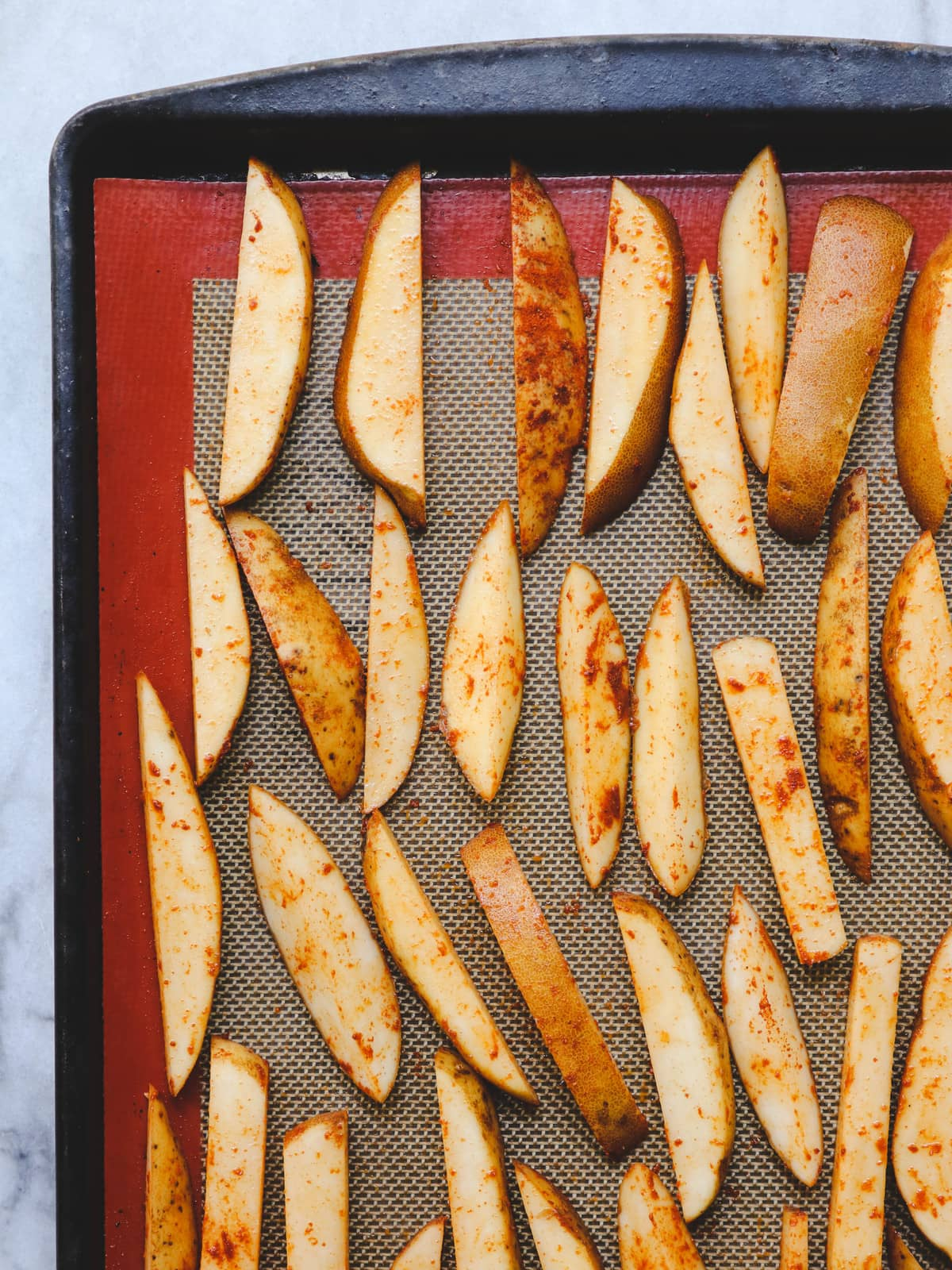Perfect Oven Baked Fries Oil Free Vegan