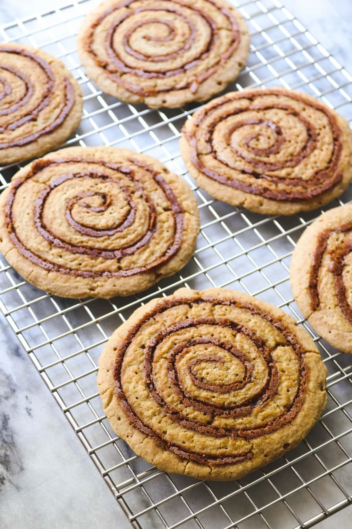Vegan Cinnamon Roll Pancakes Gluten Free
