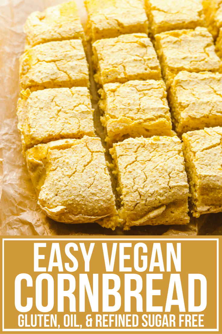 Easy Vegan Cornbread (with a Secret Ingredient!) - From My ...