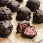 Chocolate Covered Cherry Truffles Gluten Free Vegan