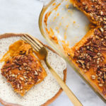 Healthy Sweet Potato Casserole - Vegan Thanksgiving & Holiday Recipe