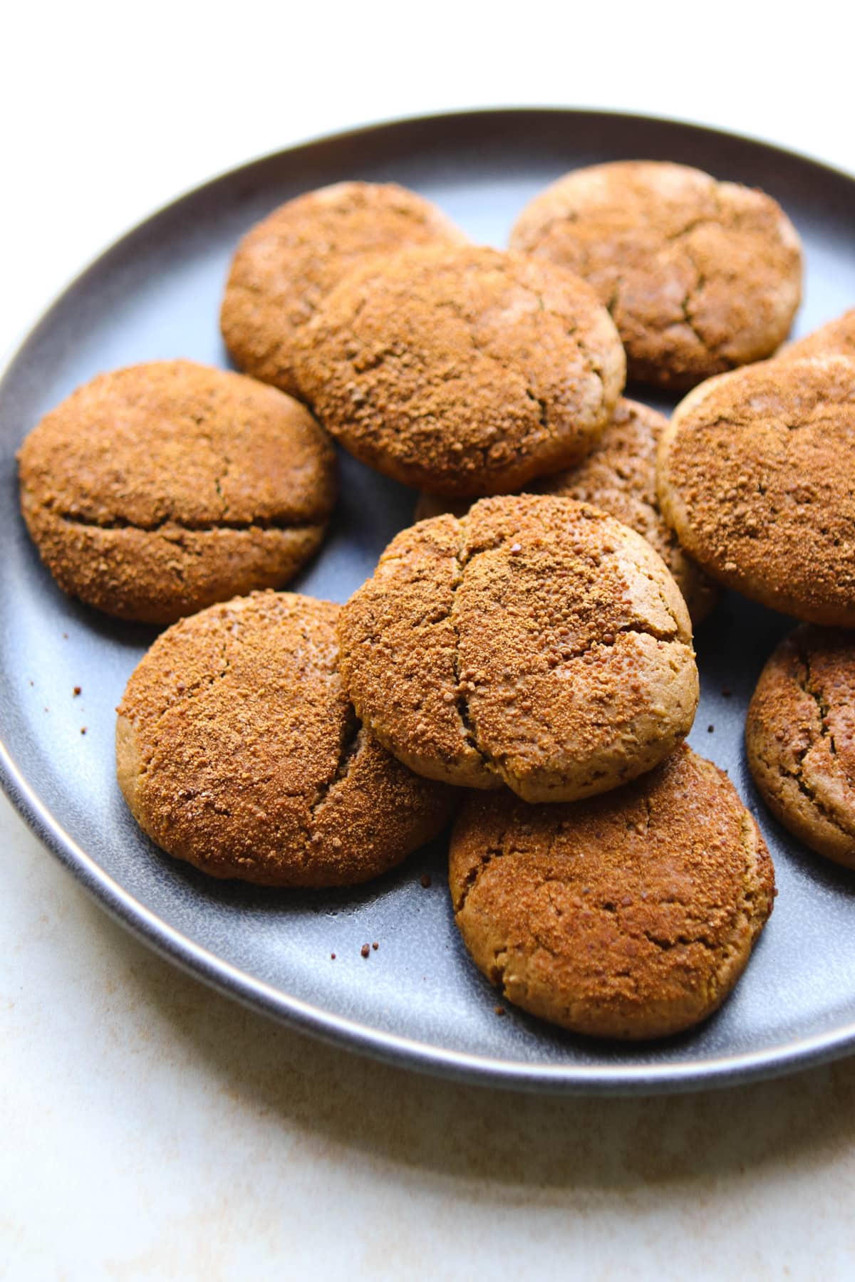 Cashew Butter Snickerdoodles - Easy, Vegan, and Refined Sugar Free!