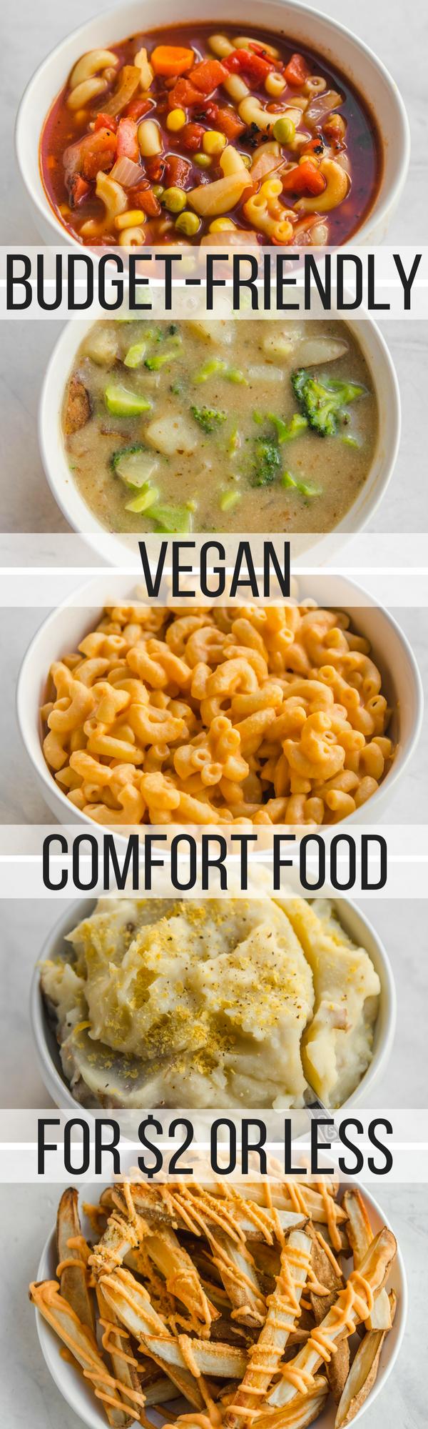 5 budget friendly vegan comfort food recipes under 2 from my bowl vegan budget friendly vegan comfort food recipes under 2 per serving vegan forumfinder Gallery