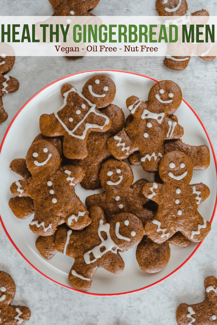Crunchy Vegan Gingerbread Cookies Nut Free From My Bowl