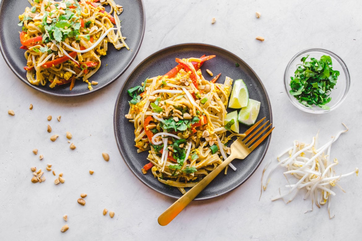 Easy vegan pad thai in 30 minutes from my bowl easy vegan pad thai in 30 minutes forumfinder Choice Image