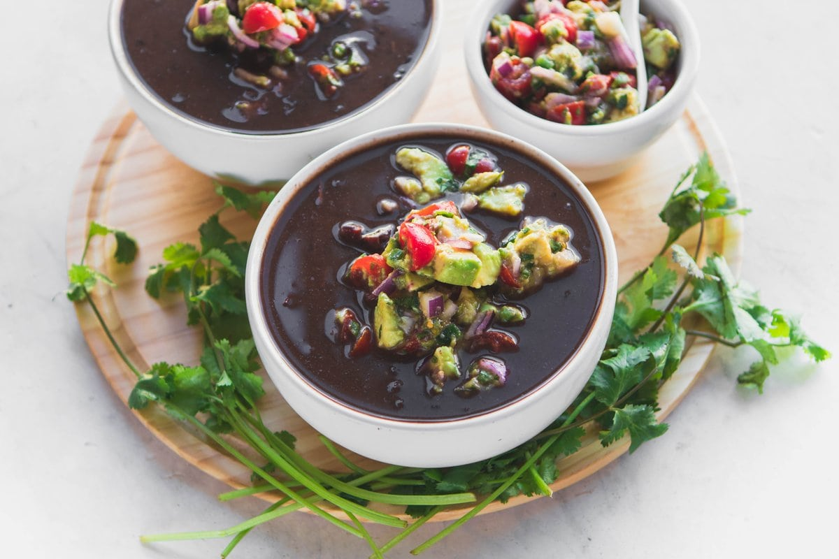 Instant Pot Black Bean Soup 10 Ingredients From My Bowl