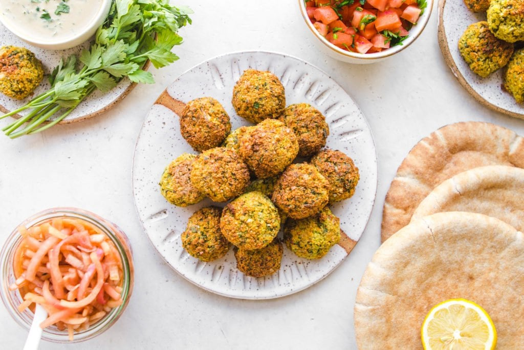 easy falafel recipe gluten free from my bowl. Black Bedroom Furniture Sets. Home Design Ideas