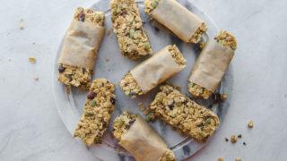 No-Bake Granola Bars (Vegan & Nut Free!) - From My Bowl