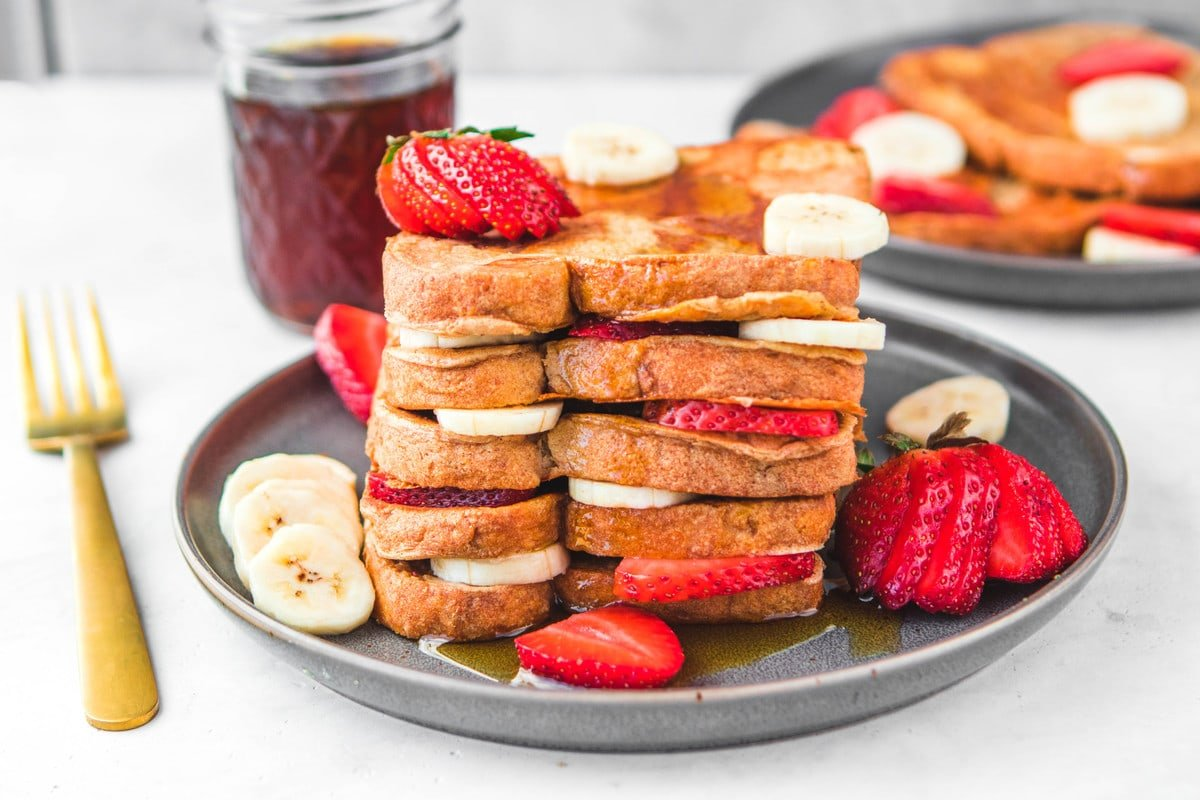 Vegan French Toast Recipe 7 Ingredients From My Bowl
