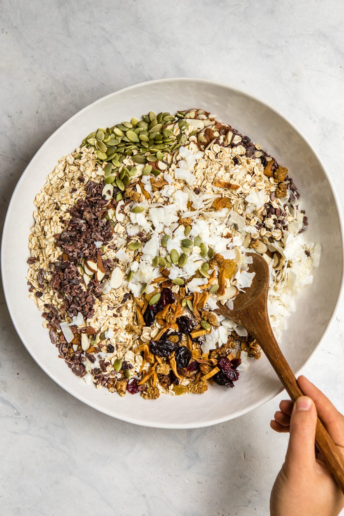 Easy Muesli Recipe Vegan Gf Customizable From My Bowl