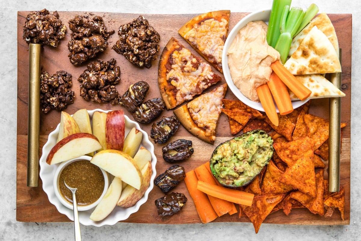 Easy 3-Ingredient After School Snacks (Vegan + Healthy