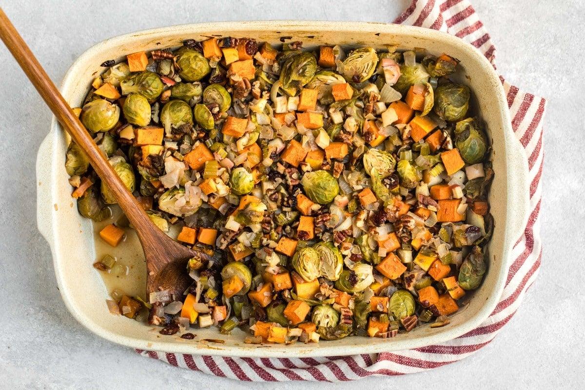 Fall Roasted Vegetable Casserole