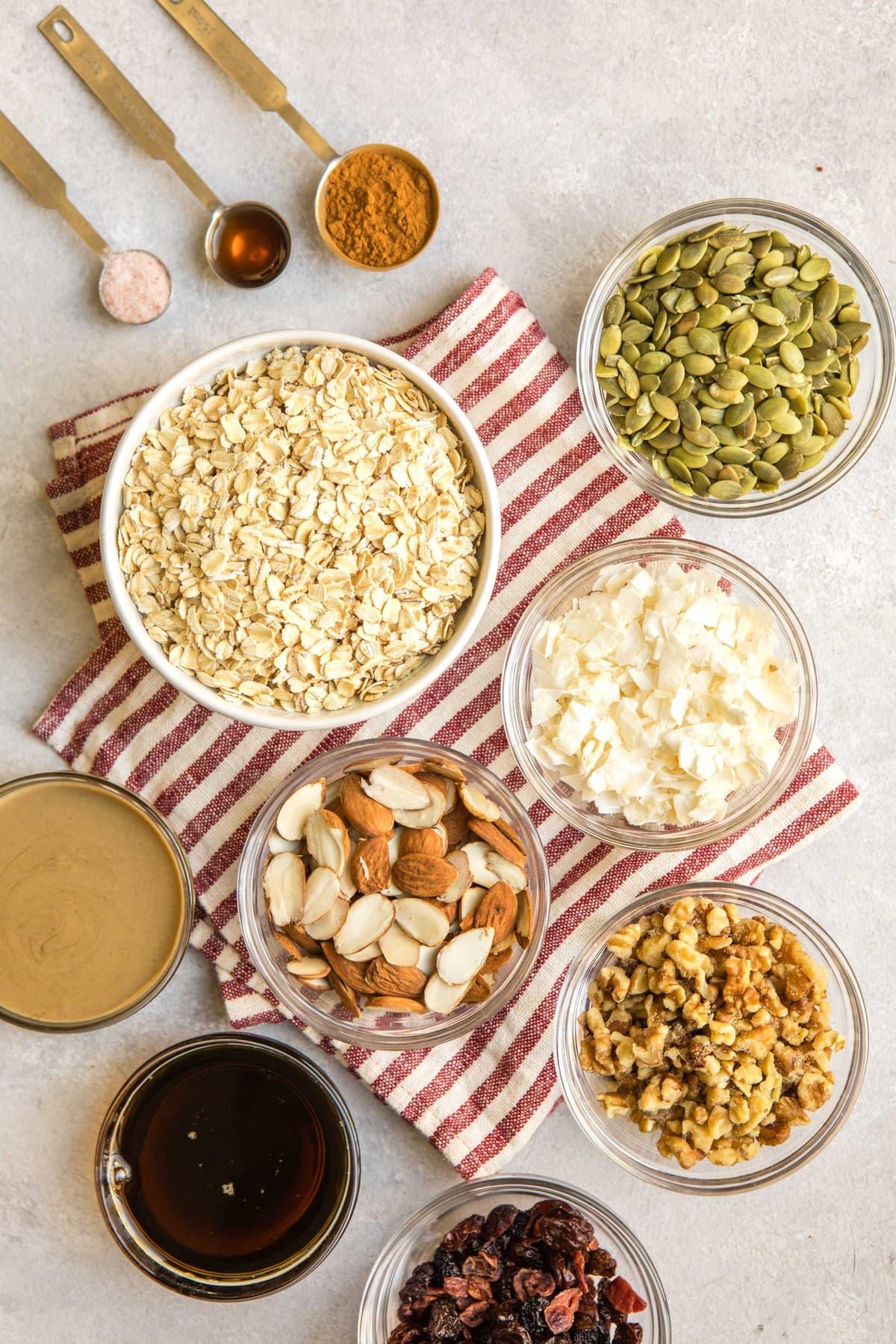 Easy Vegan Granola Recipe (9 Ingredients!) - From My Bowl