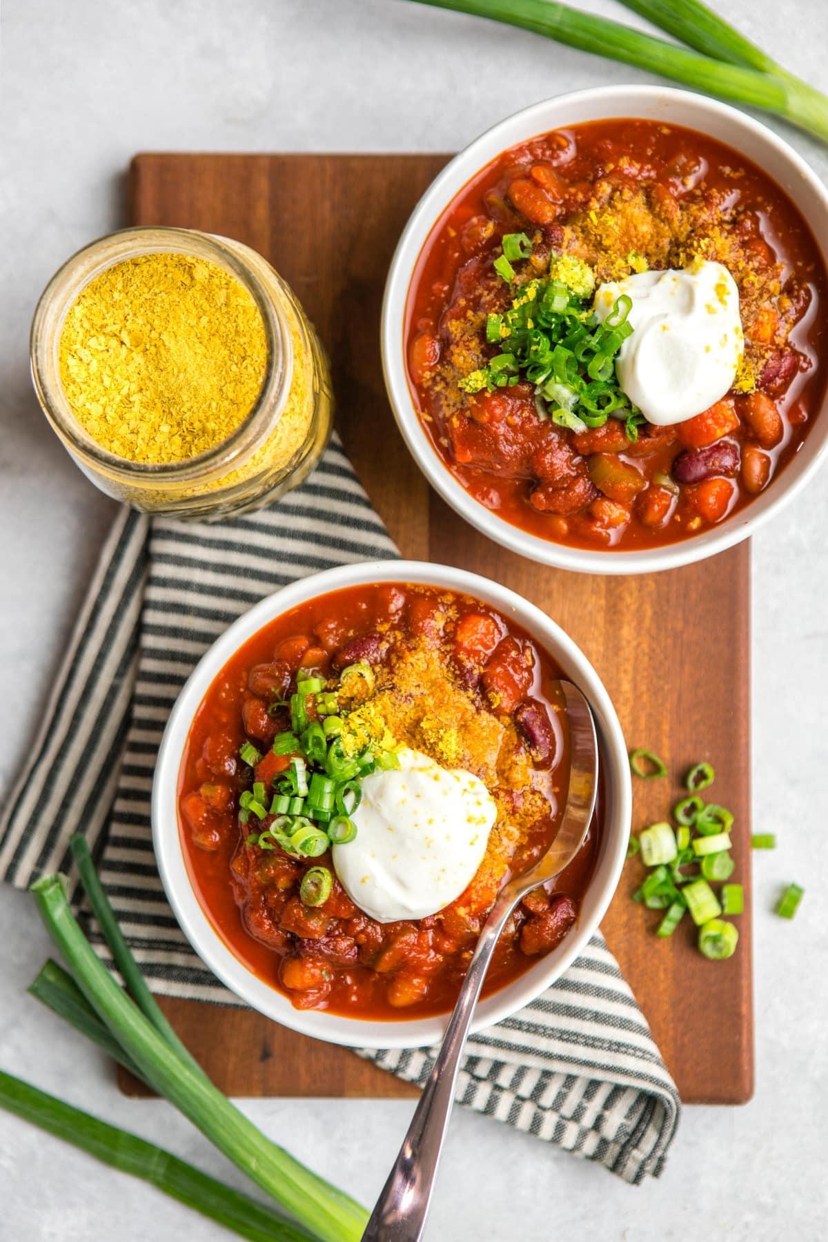 Easy Vegan Chili Recipe From My Bowl