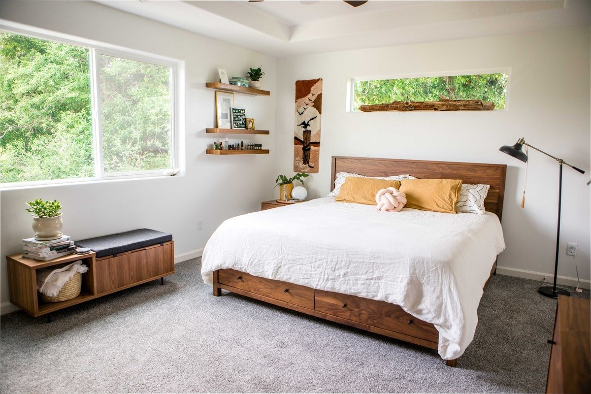 Our Master Bedroom Tour (plus tips to minimize waste ...