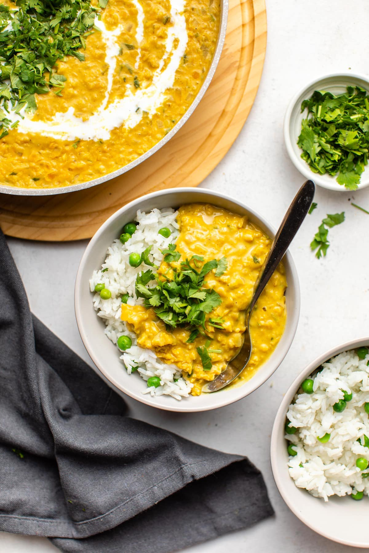 Creamy Coconut Red Lentil Curry From My Bowl