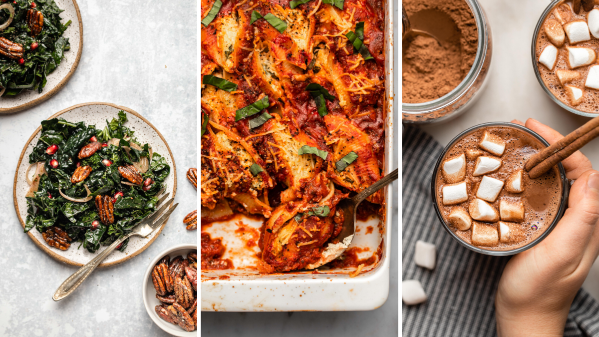 9+ Vegan Holiday Recipes for all Eaters - From My Bowl