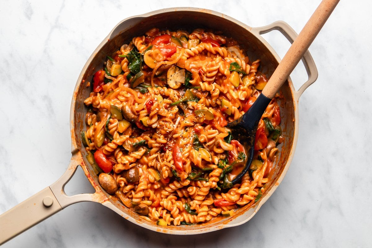 Easy One Pot Pasta Cozy Healthy 20 Minute Dinner From My Bowl
