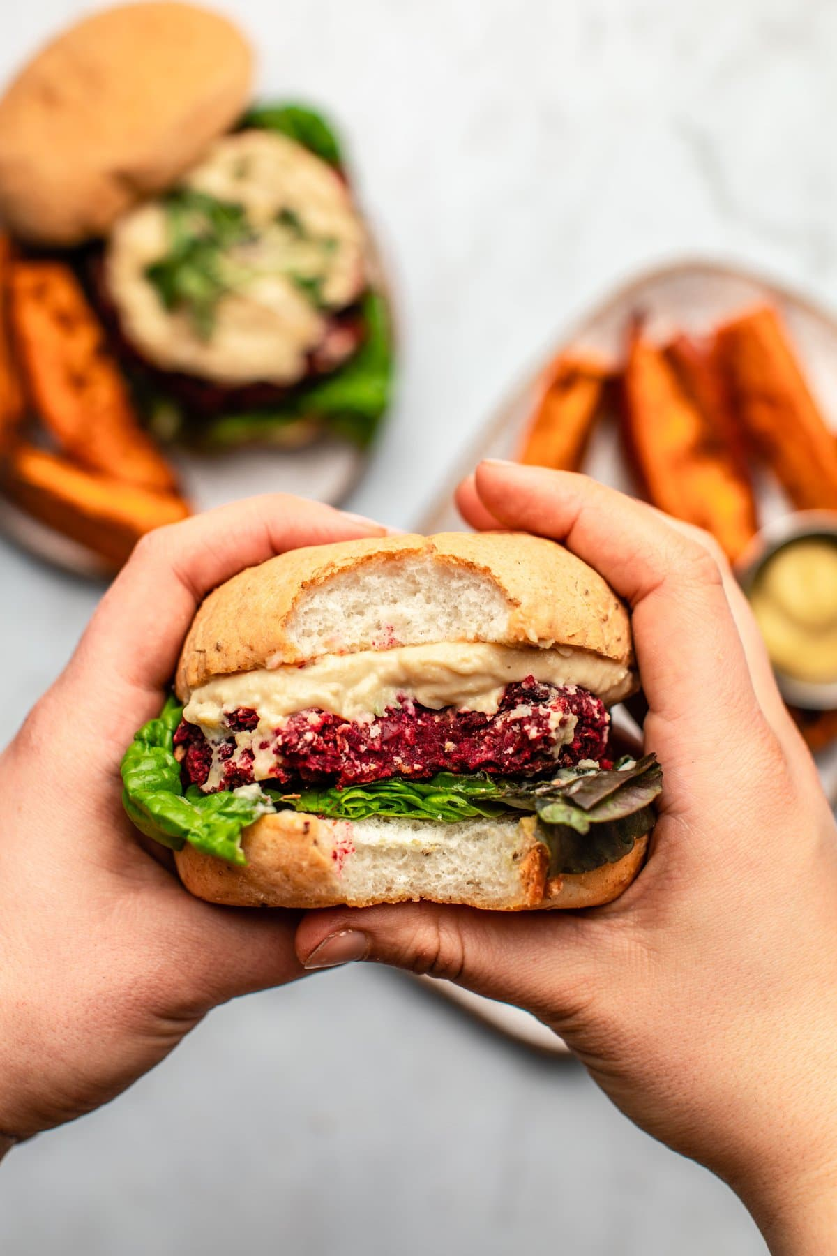 The Best Vegan Beet Burgers Wholesome Hearty From My Bowl